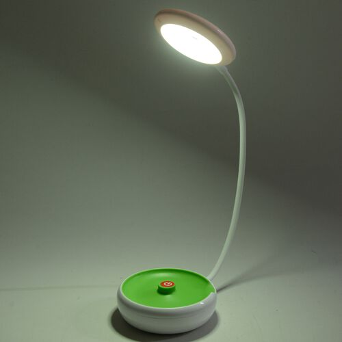Foldable Table Lamp (Size 11x5x49 Cm) Green Colour