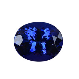 AAAA Tanzanite Oval 12.15X9.90X7.30 Faceted 5.97 Ct.