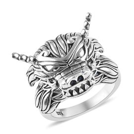 Dragon Ring in Sterling Silver