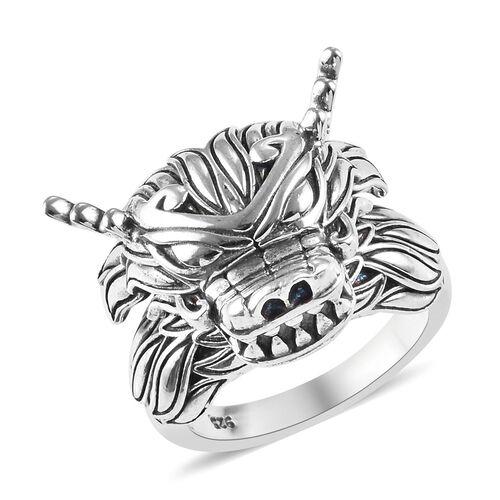 Dragon Ring in Sterling Silver