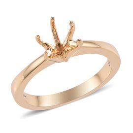 ILIANA 18K Yellow Gold Ring Mould