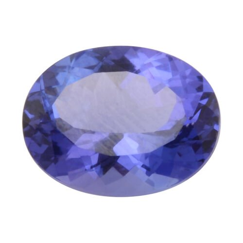 AAA Tanzanite Oval 10x8MM Faceted 2.75 Ct.
