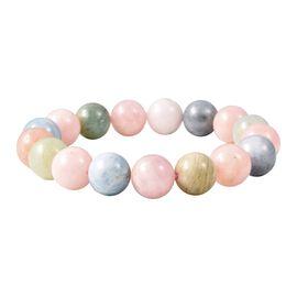 Premium Size Multi Beryl (Rnd 11-13 mm) Bracelet (Size 6.75) 205.00 Ct.