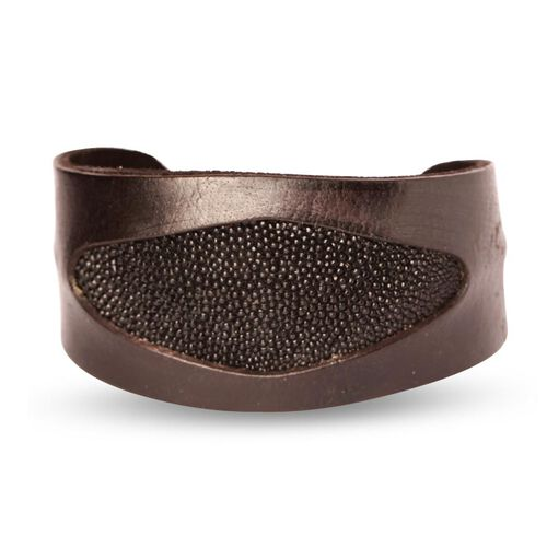 Stingray Leather Bangle (Size 7)