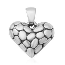 Heart Pendant in Thai Sterling Silver