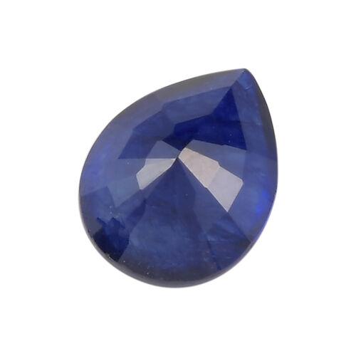AAA Masoala Sapphire Pear 8.87x7.07x4.04 Faceted 1.91 Cts