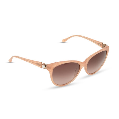 Brand New for Summer - Guess By Marciano - Vintage Style Cat Eye Sunglasses in Light Pink