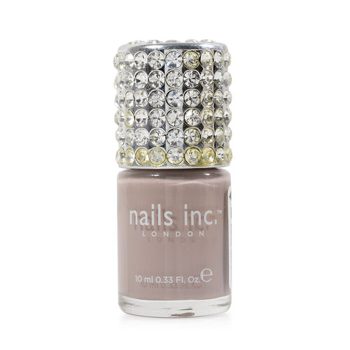 Nails Inc: Crystal Top Porchester Square - 10ml and On the Naughty List - 14ml