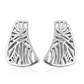 Isabella Liu - Sea Rhyme Collection - Rhodium Overlay Sterling Silver Earrings (with Push Back)