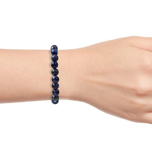 Sodalite Beads Stretchable Bracelet (Size 7) 88.500 Ct.