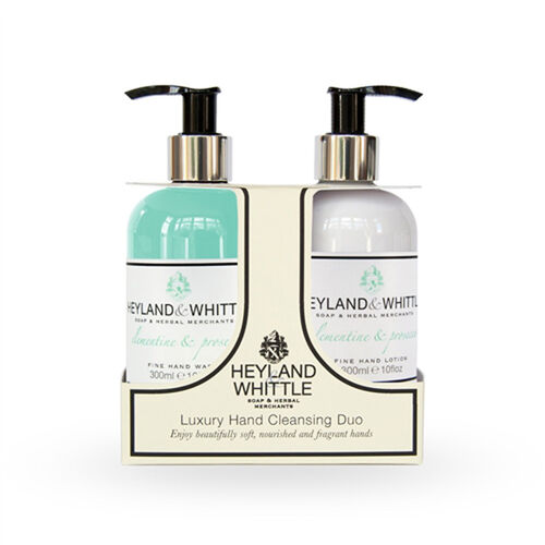 HEYLAND AND WHITTLE- Clementine and Prosecco Hand Wash and Hand Lotion