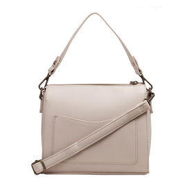 Bulaggi Collection - Livy - Cross-Body Bag With Adjustable and Removable Strap (22x21x09 cm) - Taupe