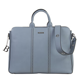 Bulaggi Collection - Laurie - Laptop Bag With Removable Strap (41x9.5x32 cm) - Pastel Blue