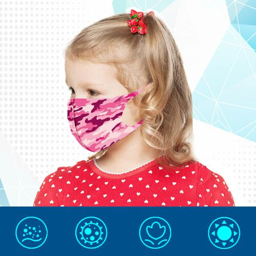 Termin8 Reusable Protective Kids Care Pack - Pink