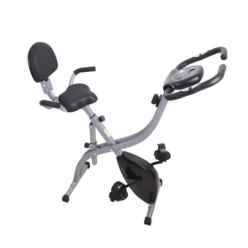 Indoor Stationary Exercise Bike (Size 106x52x111cm) Max Weight 150KG - Black