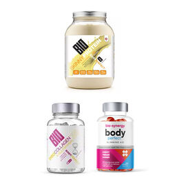 BIO SYNERGY: Slimming & Beauty Set (Incl. Skinny Protein, Body Perfect, Collagen Vitamin)