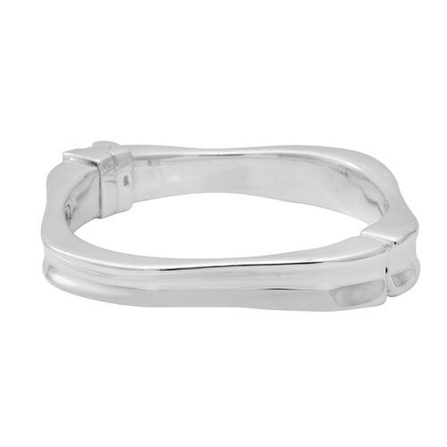 Plain Bangle in Sterling Silver 38.33 Grams 7.75 Inch