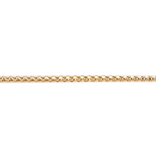 One Time Close Out Deal-  9K Yellow Gold Fancy Necklace (Size 22) Gold Wt 4.00 Grams