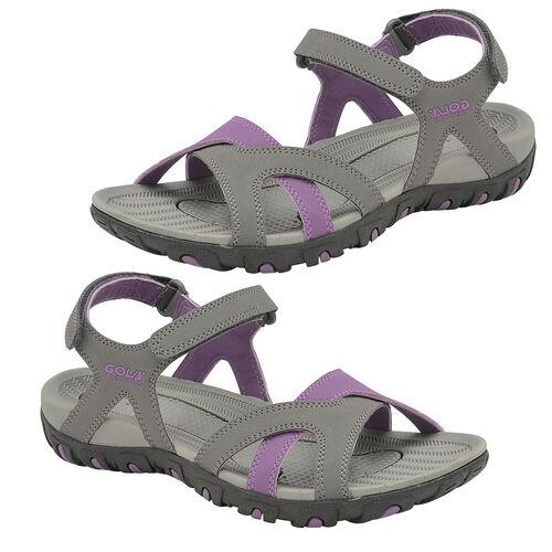 Gola Cedar Walking Sandal (Size 5) - Grey/Purple