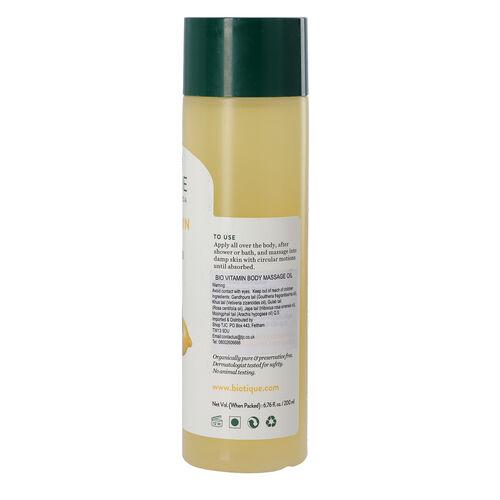 Biotique Bio Vitamin Therapeutic Body Massage Oil - 210ml