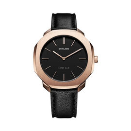 D1 Milano - Watch (36mm) in Italian Leather Black Strap