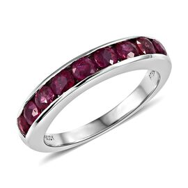 Rhapsody Burmese Ruby (1.50 Ct) 950 Platinum Ring  1.500  Ct.