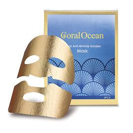 Coral Ocean Anti-Wrinkle Revitalizing Golden Facial Mask (Size:25x3) - 75Gm