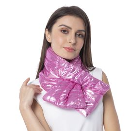 Pink Colour Scarf with Bling Effect Size 170x18 Cm
