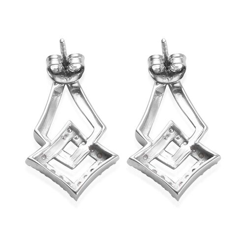 Natural Cambodian Zircon Earrings (with Push Back) in Platinum and Yellow Gold Overlay Sterling Silver 0.71 Ct.