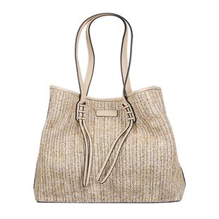 Bulaggi Collection - Sapphire Shopping Bag (Size 35x31x15cm) - Natural