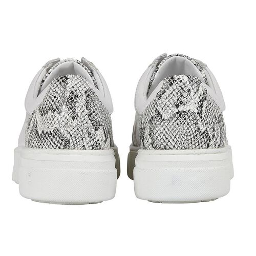 Lotus Stressless Leather Venice Lace-Up Trainers (Size 3) - White