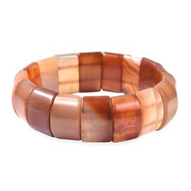 Carnelian Stretchable Bracelet (Size 7.5) 283.50 Ct.
