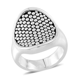 Thai Sterling Silver Ring, Silver wt. 7.53 Gms.