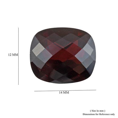 AAA Red Garnet Cushion 14x12 Checkerboard 9.99 Cts