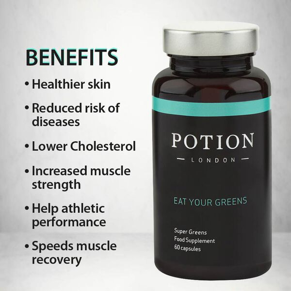 Potion London: Eat Your Greens - 60 Capsules