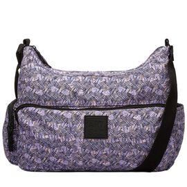 Artsac - Pink Colour Izzy Line Print Grab Bag (Size 360 x260 x150 mm)