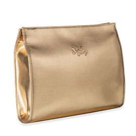 Soul Beauty: Rose Gold Cosmetic Bag