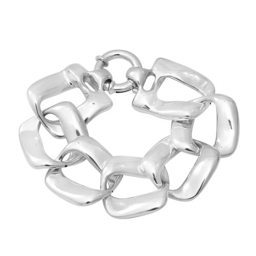 Link Bracelet in Sterling Silver 31.50 Grams 8 Inch