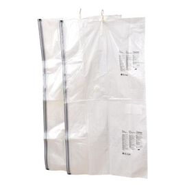 Set of 2 : Extra Large Heavy Duty Storage Solution - Hanging Vacuum Bag With Multiple Hanger Slots (