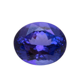 IGI Certified AAA Tanzanite Faceted (Oval 11.39x9.29 3A) 4.820 Cts (GT12934703)