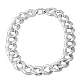 Chain Necklace in Sterling Silver 63 Grams 20.5 Inch
