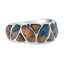 Santa Fe Collection - Spiny Turquoise Ring in Sterling Silver
