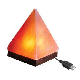 Himalayan Salt USB Lamp Pyramid Shape (Size 11x7 Cm)