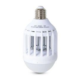 Bug Zapper with LED Bulb (Size 15.5x8 Cm) - White Colour