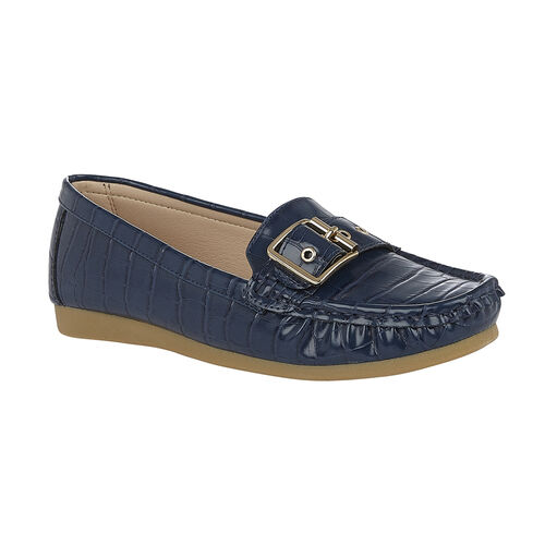 Lotus Cory Slip-On Loafers (Size 5) - Navy
