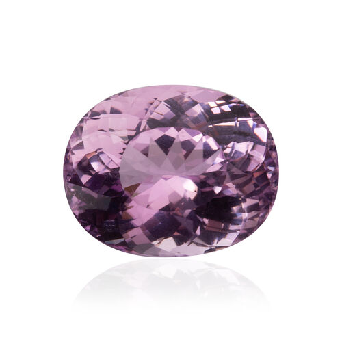 One Time Deal - Kunzite (Oval 19.5x16 Faceted 3A) 25.170 Cts