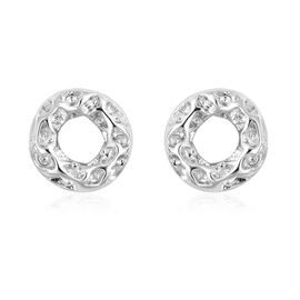 RACHEL GALLEY Allegro Collection - Rhodium Overlay Sterling Silver Stud Earrings (with Push Back)