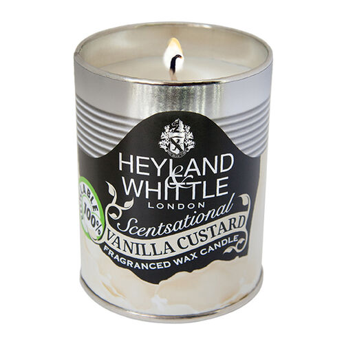 Heyland & Whittle: 458 Kitchen & Garden Vanilla Custard Candle Tin - 250g