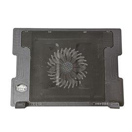 Laptop Cooling Pad (Size 37x26.5 Cm) with USB Cable (60 Cm) - Black Colour