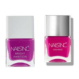 Nails Inc: Its 12pm Somewhere - 14ml & Regents Park - 14ml